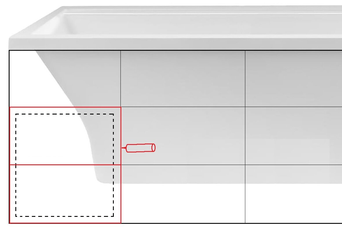 Как сделать экран под ванной как сделать экран под ванной