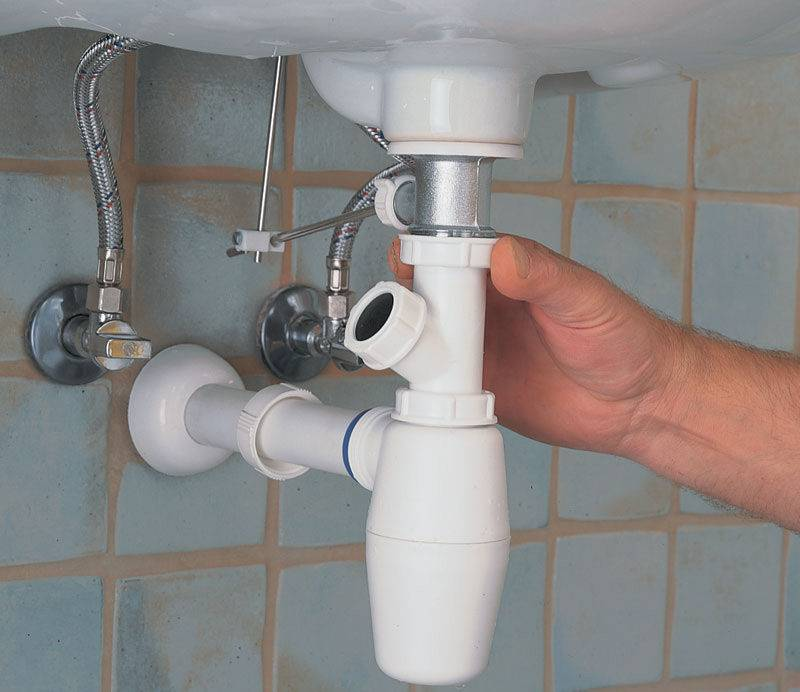 Как установить сифон на раковину в ванной? демонтаж и монтаж нового сифона