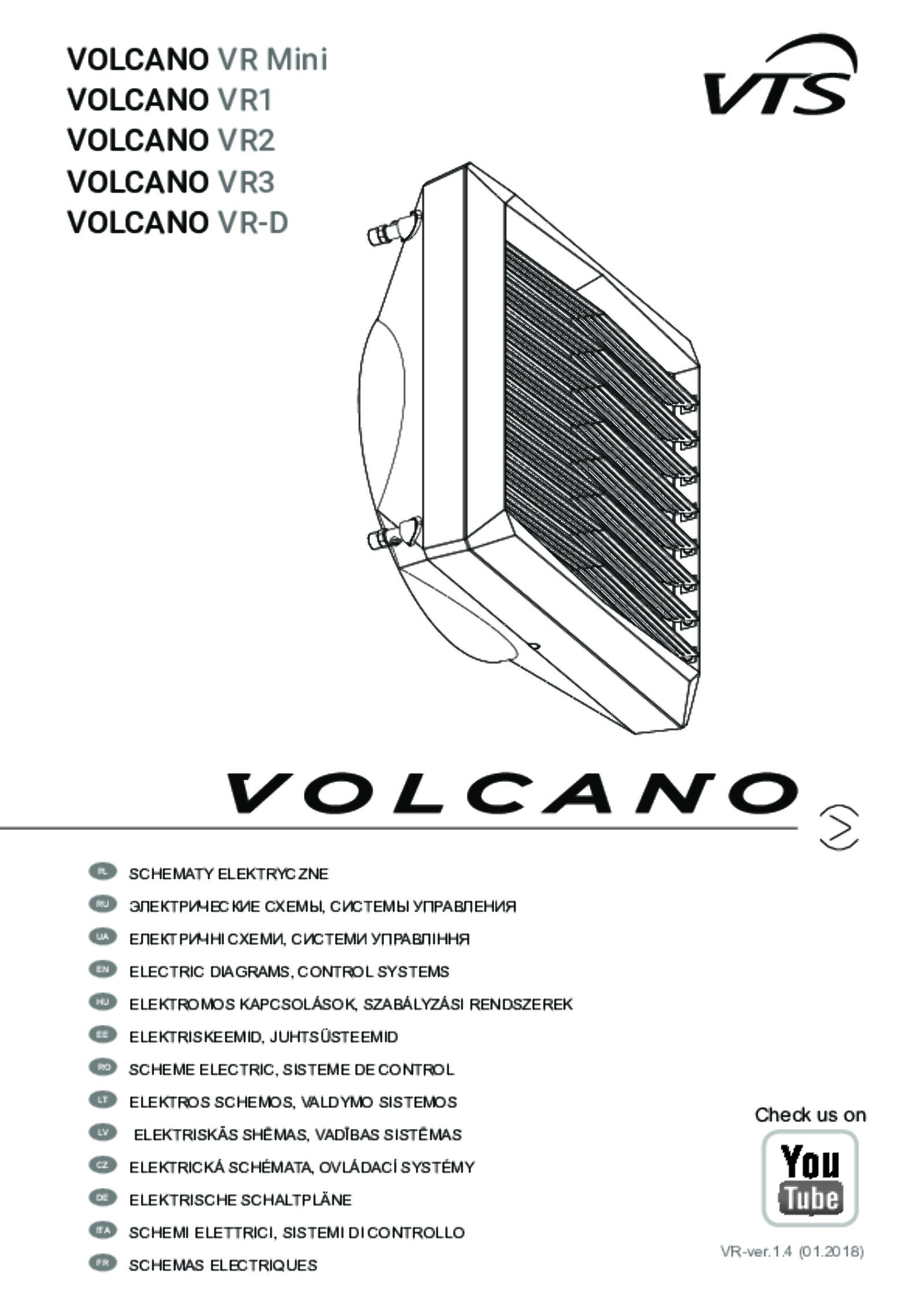 Volcano 3 ec - 1-4-0101-0444 - vts group
