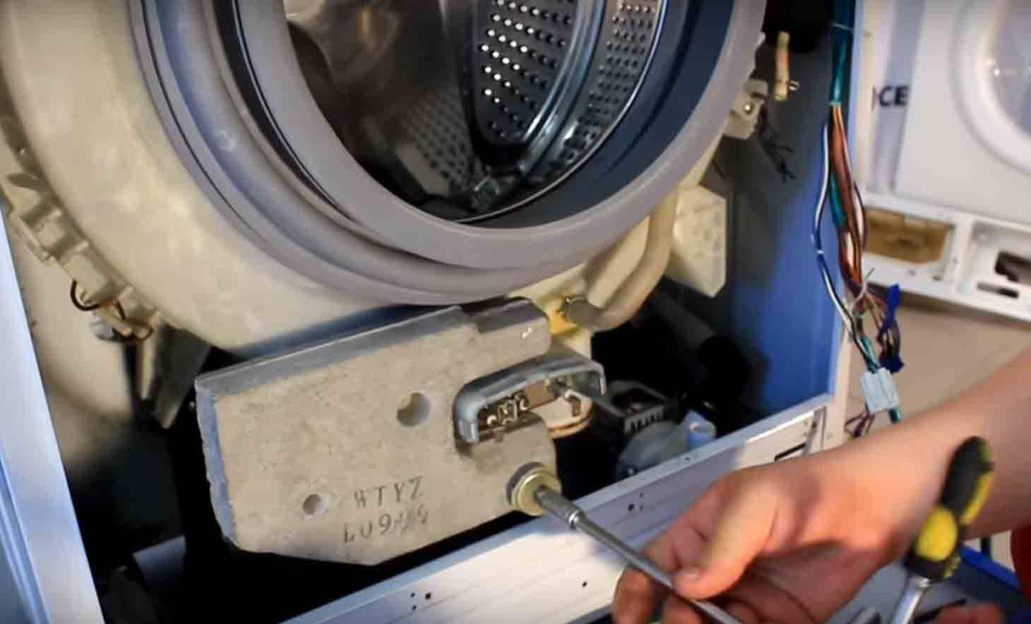 Ремонт электронного блока стиральной машины samsung: как починить плату управления сенсорных и обычных модулей?