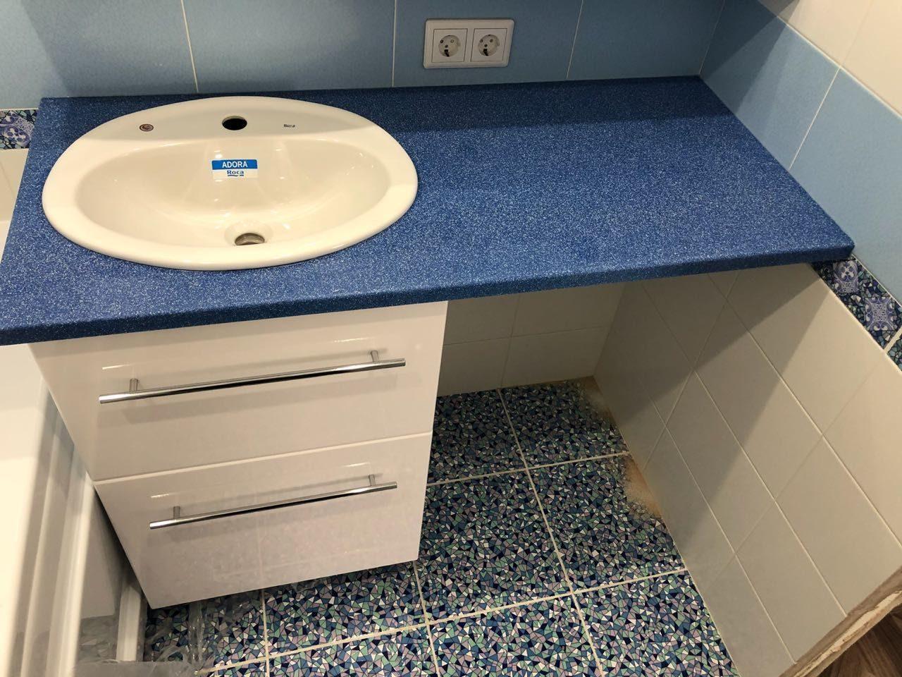 Раковины под столешницу в ванной