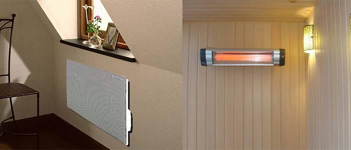 Конвектор или инфракрасный обогреватель: что лучше подойдет для дома и квартиры