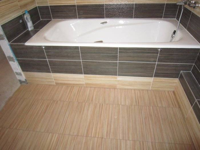 Делаем экран для ванны самостоятельно: обзор проектов и подробная инструкция по строительству