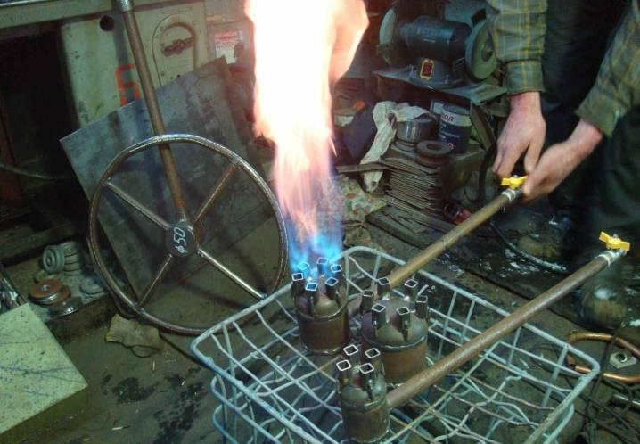 Газовая горелка из паяльной лампы своими руками: руководство по изготовлению и эксплуатации