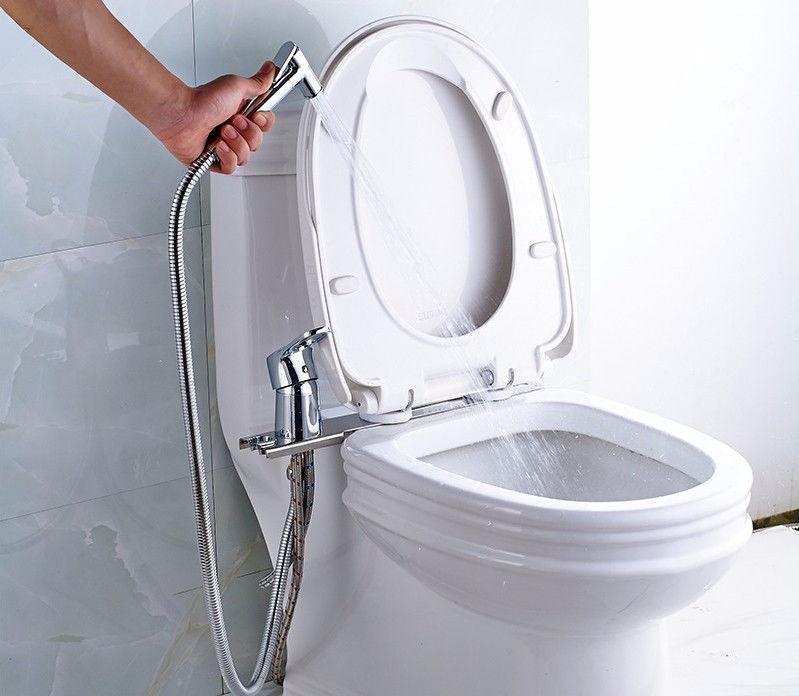 Гигиенический душ для унитаза со смесителем: виды, установка, инструкция по монтажу (+ фото)
