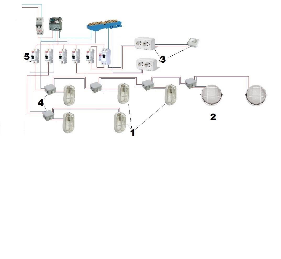 Электропроводка в гараже или зачем нам рубильник + видео