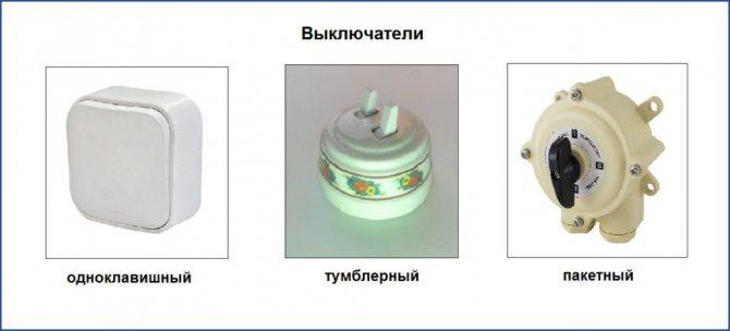 Виды розеток и выключателей: как выбрать для квартиры и дома, советы с фото