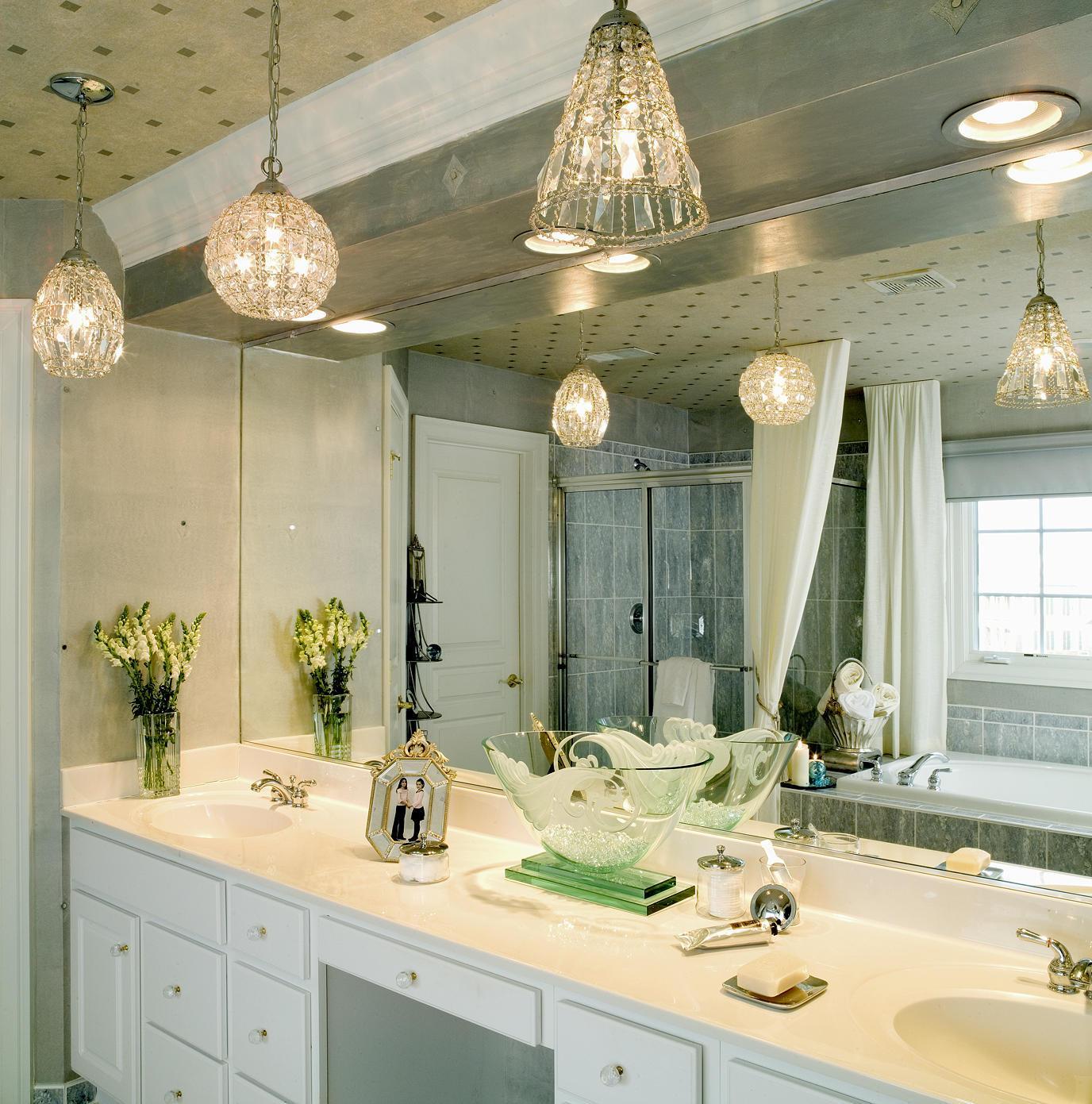 Правильное освещение в ванной комнате (+5 фото с примерами)