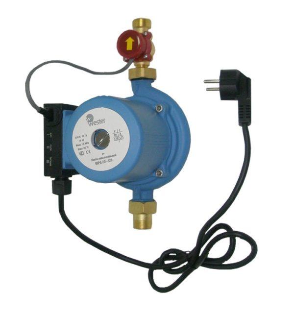 Электрический насос для повышения давления воды