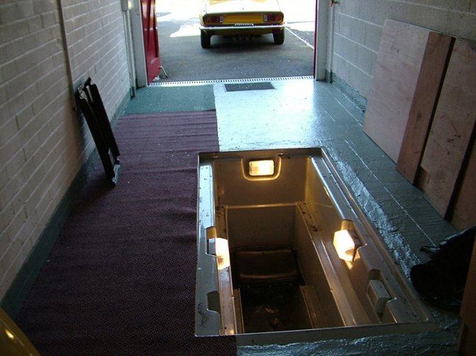 Вентиляция смотровой ямы в гараже: схема, своими руками