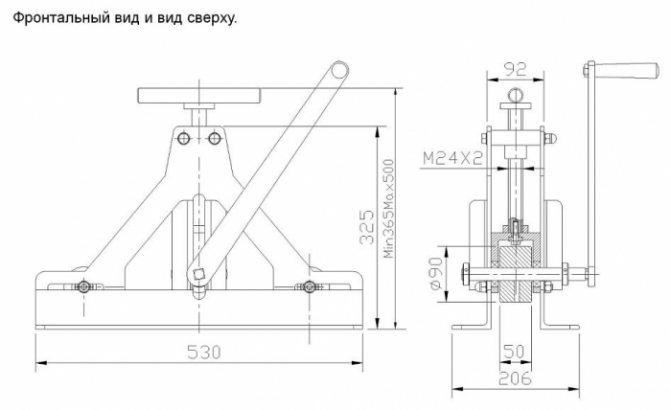 Трубогиб: обзор и разбор вариантов самодельных конструкций, расчет, чертежи, реализация