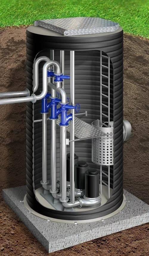 Установка канализационного насоса: монтаж, бытовые поверхностные установки