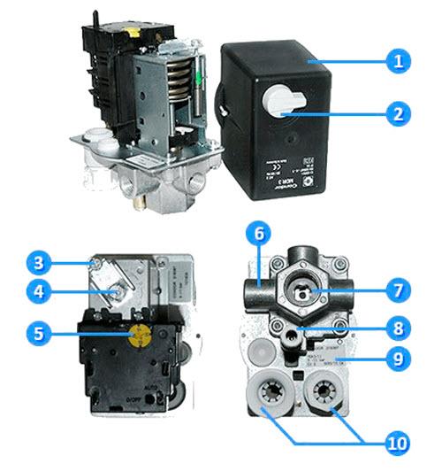 Как выбрать реле давления для компрессоров