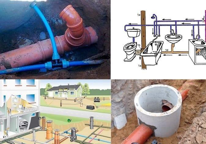 Правила подключения частного дома к центральной канализации