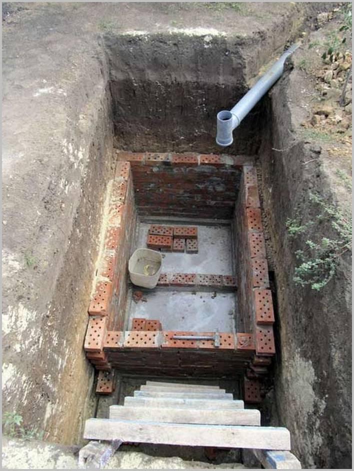 Выгребная яма без дна — устройство, конструктивные особенности