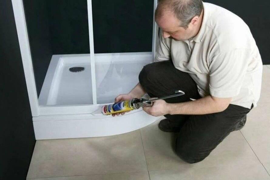 Ремонт душевых кабинок своими руками - только ремонт своими руками в квартире: фото, видео, инструкции