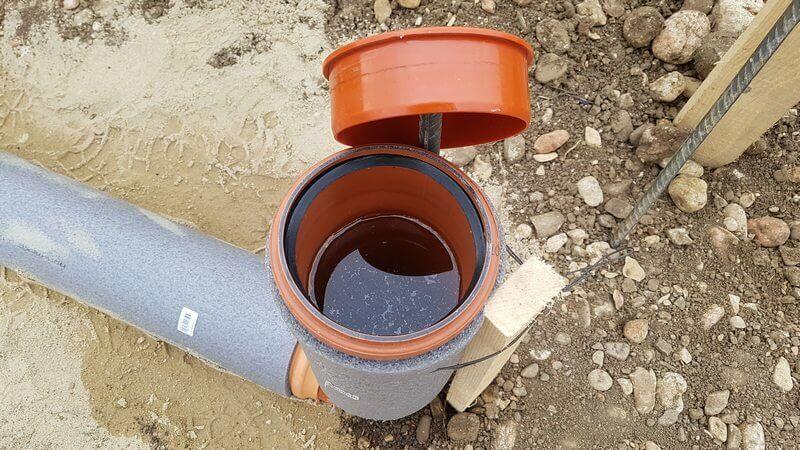 Глубина заложения канализации для частного дома