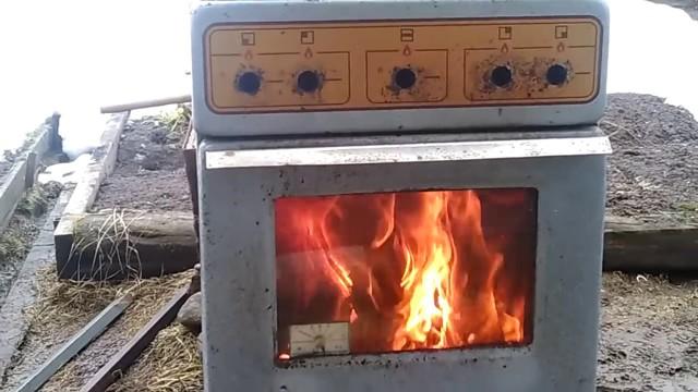 Что можно сделать из старой газовой плиты - коптильня и другие идеи