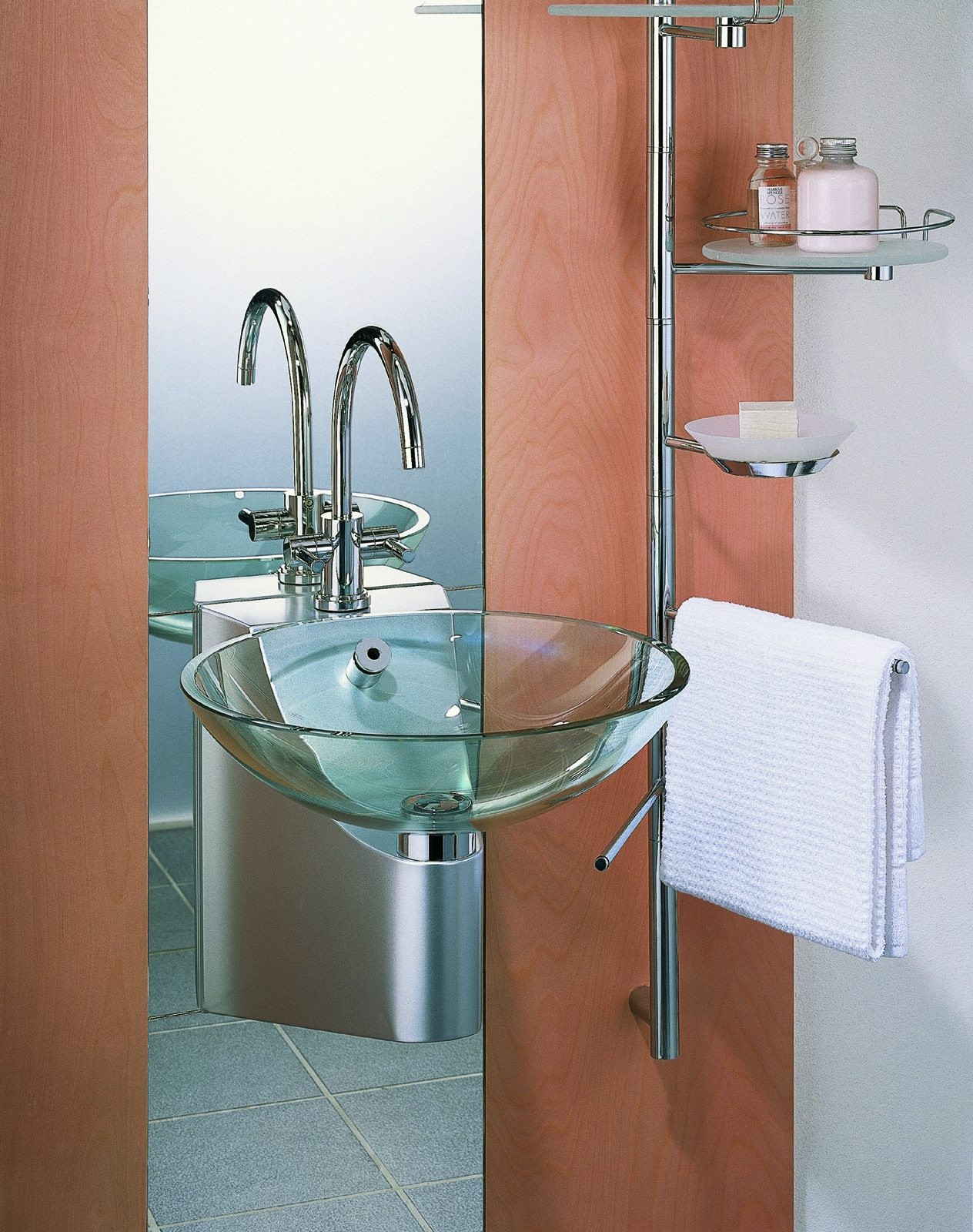 Как выбрать оптимальные размеры под раковину в ванную комнату
