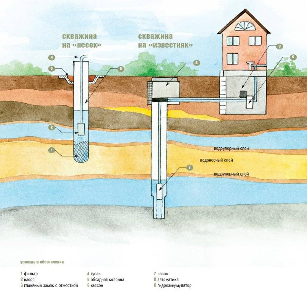 Как найти воду для скважины: методы поиска места для бурения - точка j