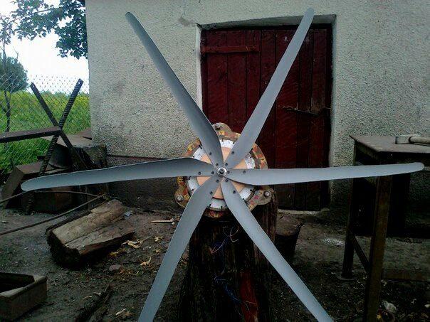 Самодельный ветрогенератор своими руками, как сделать ветряк на 220в