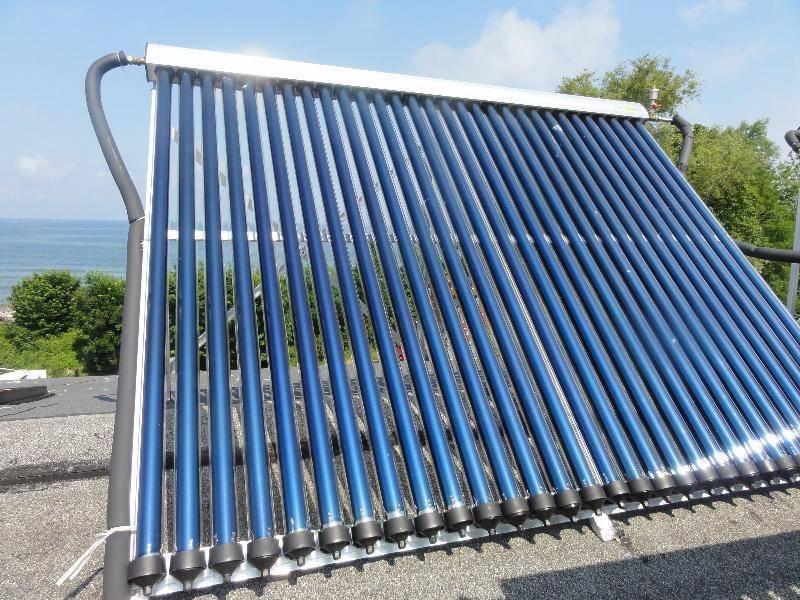 Коллектор солнечный для отопления дома: вакуумный и воздушный, тепловой и трубчатый