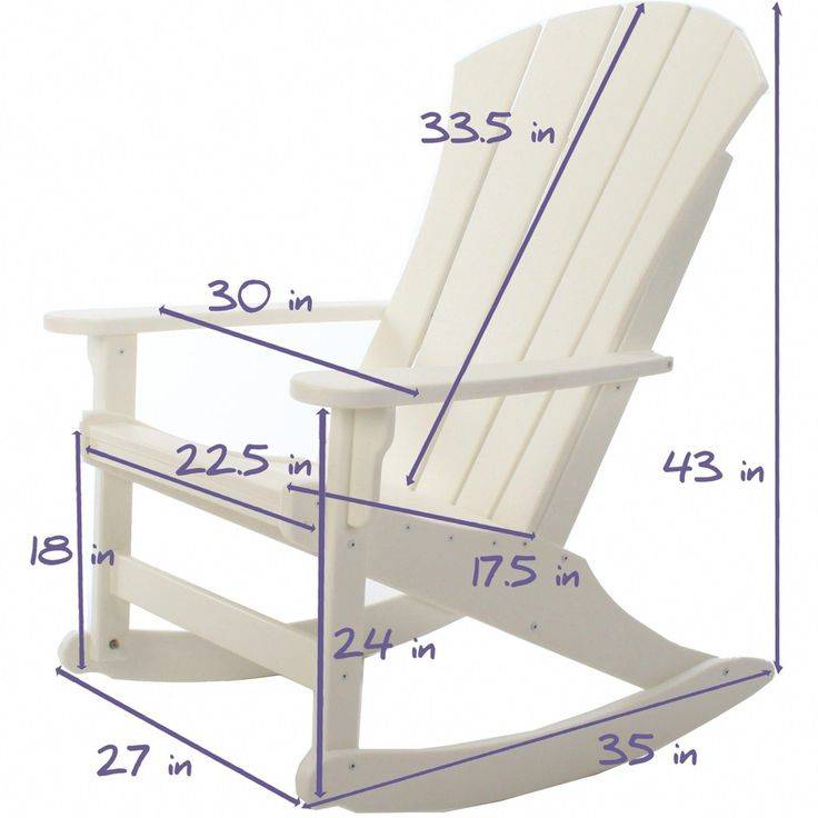 Кресло-качалка из фанеры: чертежи, схемы с размерами и инструкция, как выбрать материал и собрать своими руками по фото