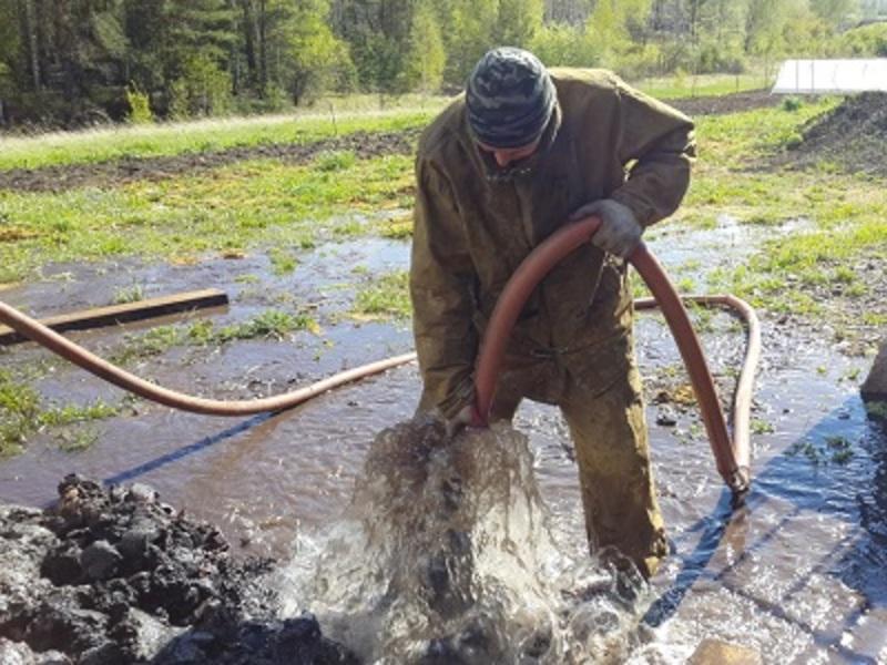 Методы очистки частной скважины своими руками