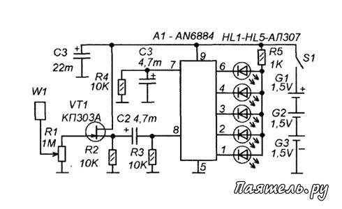 Детектор скрытой проводки: принцип действия и схема, как сделать своими руками