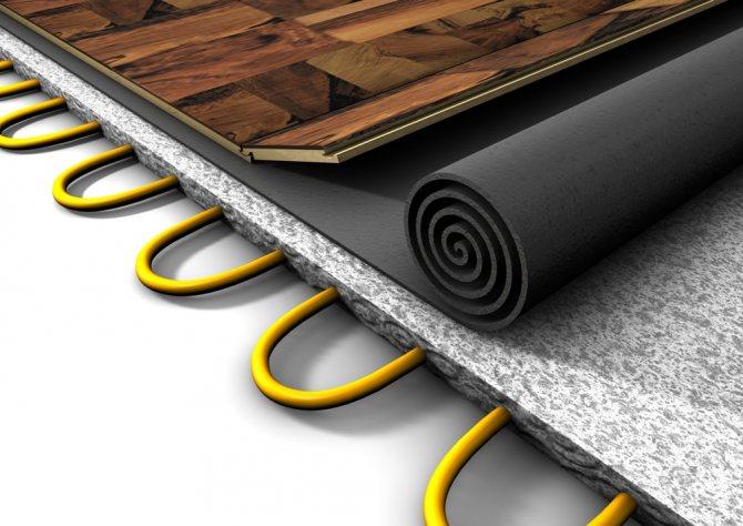 Подложка для теплого пола: какая лучше под водяной и электрический пол, подкладка под трубы, какую выбрать, отражающая подстилка, фото и видео