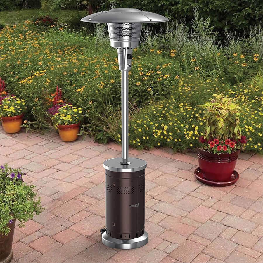Как выбрать газовый обогреватель для дачи — выбор прибора для уличного обогрева