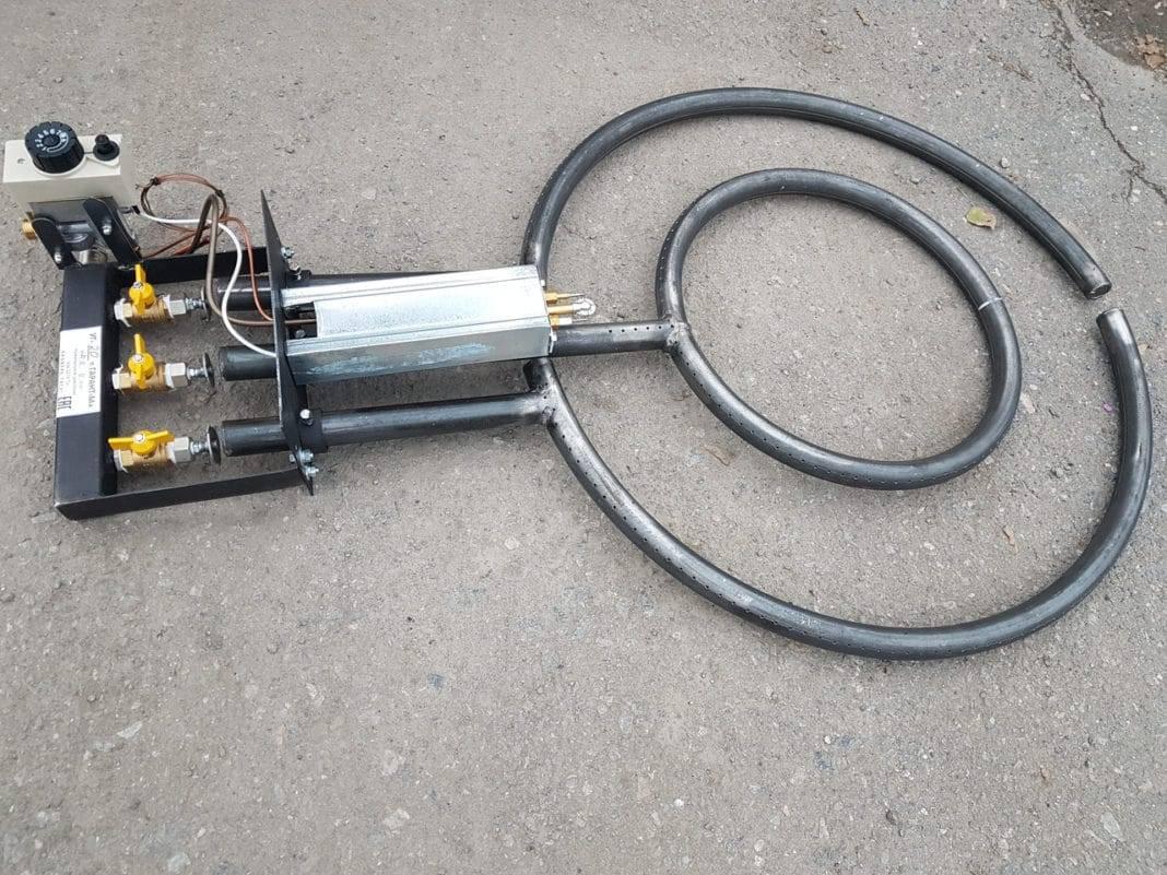 Газовые горелки для печей отопления: особенности эксплуатации форсунки и техника безопасности