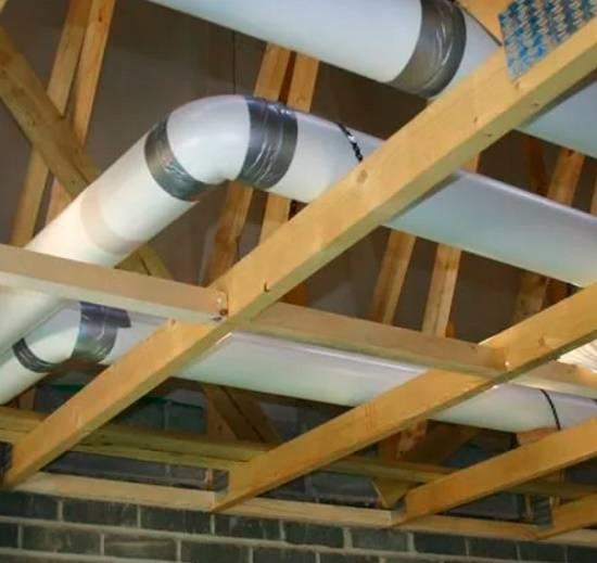 Вентиляция из пластиковых канализационных труб в частном доме: возможность сооружения и лучшие варианты