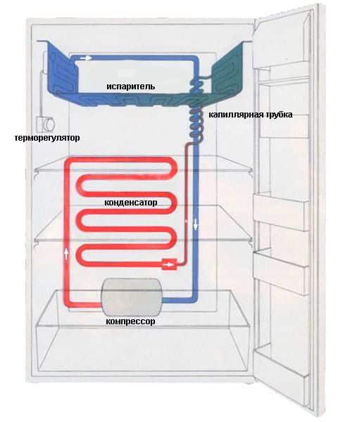 Как устроен холодильник: принцип и схема работы холодильного оборудования разных типов