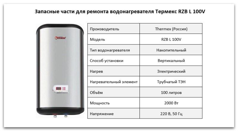 Водонагреватели термекс - инструкция и описание оборудования