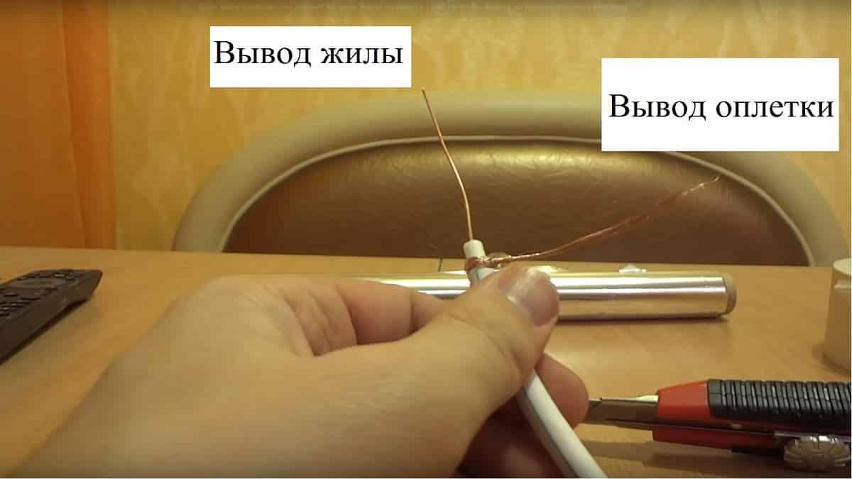 Инструкция по изготовлению телевизионной антенны для дачи своими руками