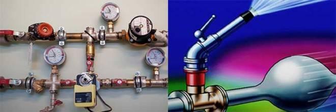 Гидроудар в системе водоснабжения, отопления - причины и возможные последствия