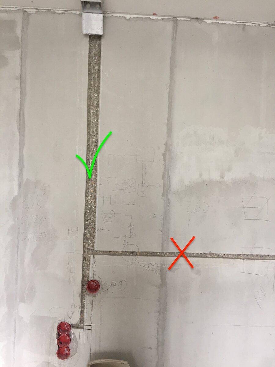 Заделка штроб под проводку - пошаговая инструкция | элсис24