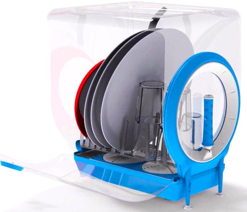 Обзор моделей портативных посудомоечных машин