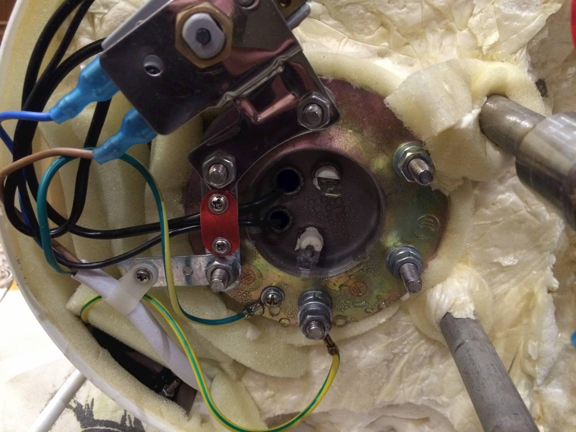 Пошаговый ремонт водонагревателей «термекс» своими руками
