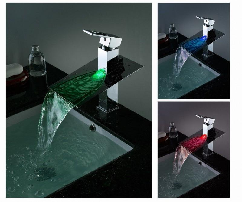 Как разобрать смеситель водопад