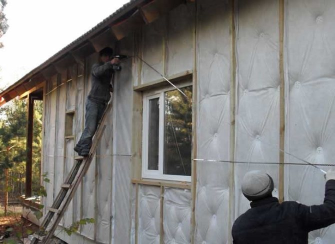 Секреты утепления деревянного дома снаружи пеноплексом