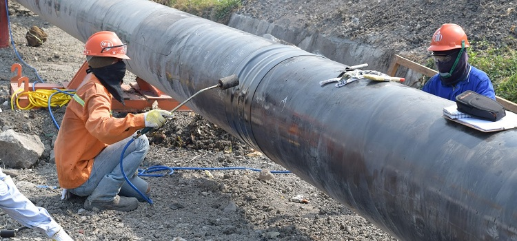 Основные способы изоляции газопроводов