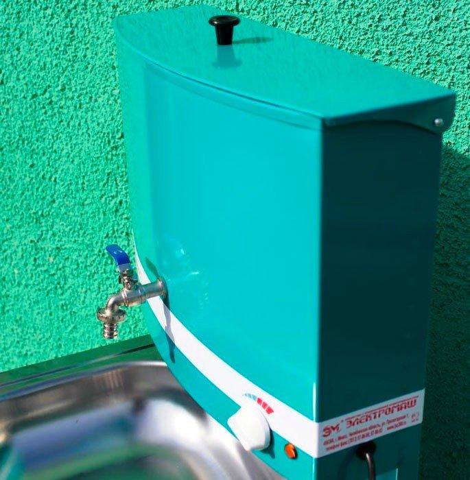 Рукомойник с подогревом для дачи: дачный умывальник с водой