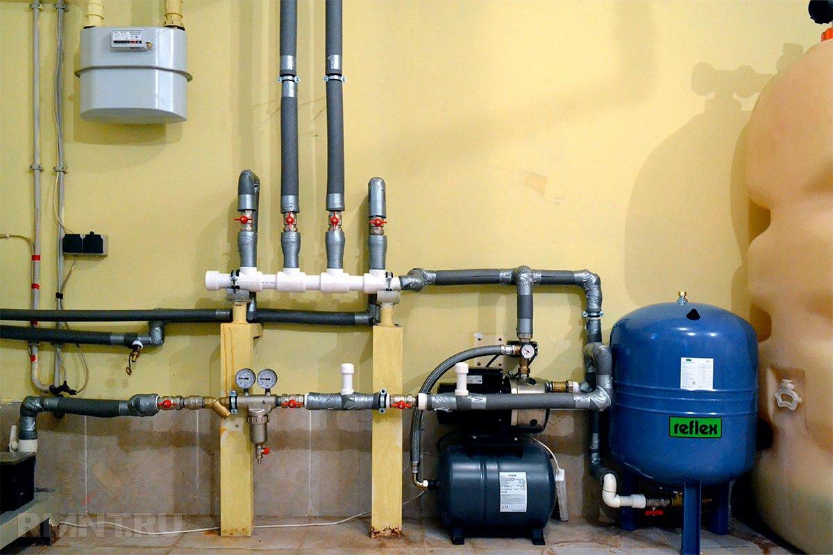 Отопление в коттедже схема - всё об отоплении и кондиционировании
