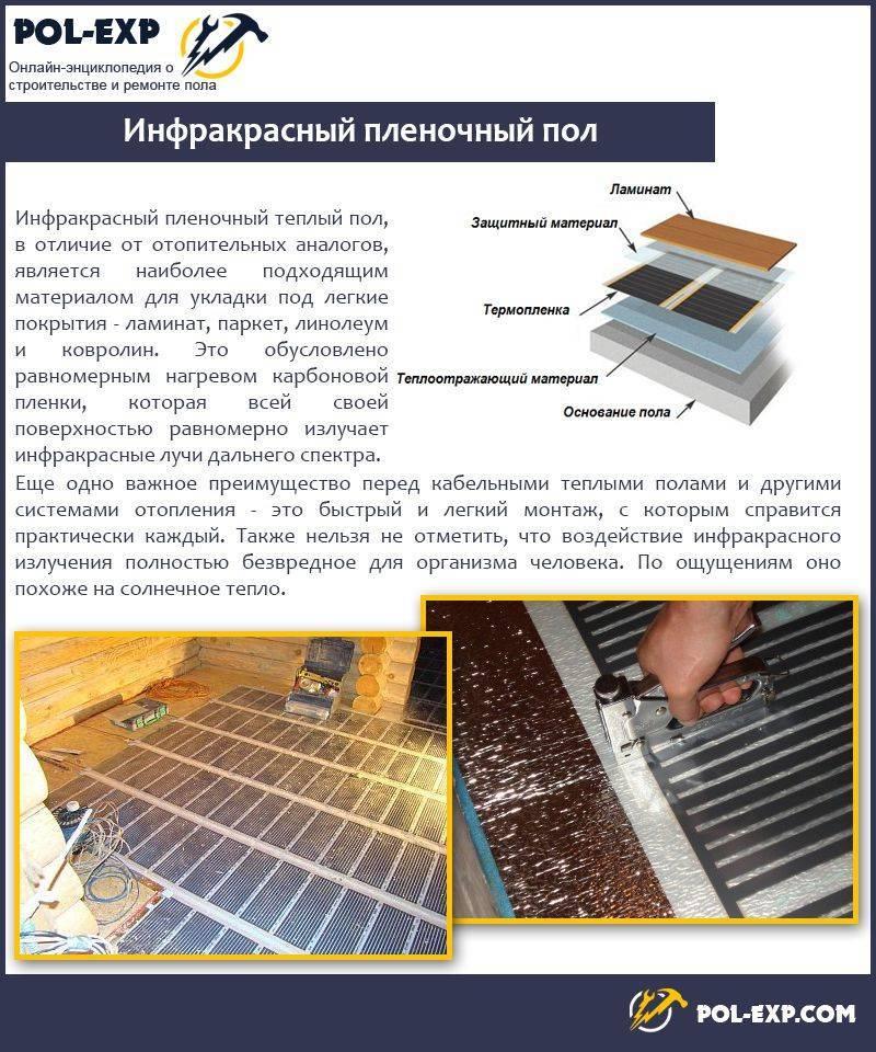 Теплый пол электрический - пленочный монтаж теплый пол электрический - пленочный монтаж