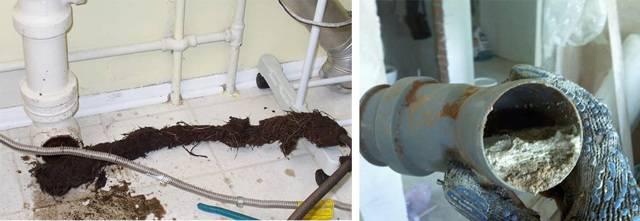 Как прочистить канализацию и устранить засор в трубе самому - гидканал