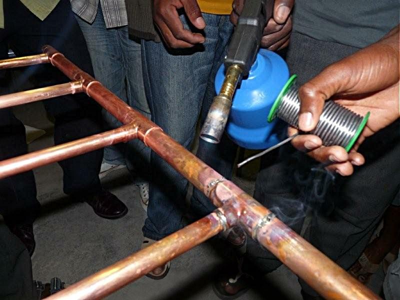 Как провести пайку медных труб