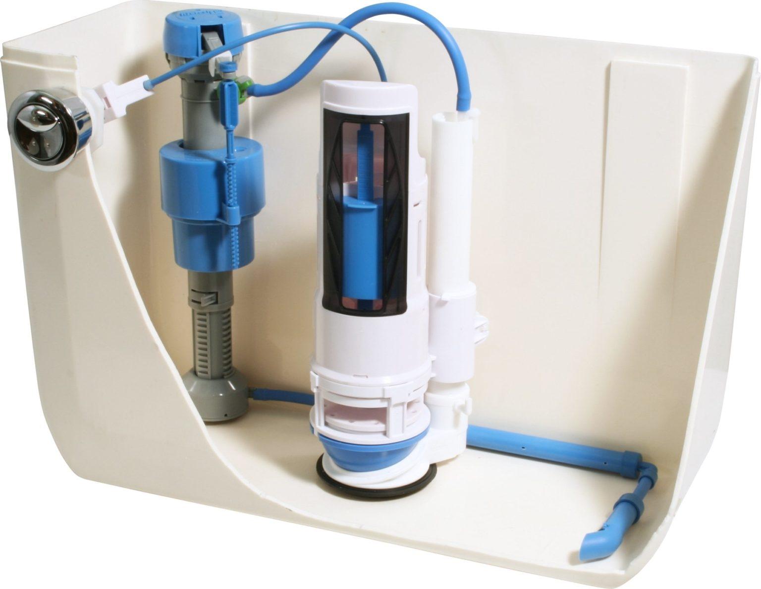 Впускной клапан для унитаза с нижним и боковым подводом (заливной) - виды, неисправности и замена