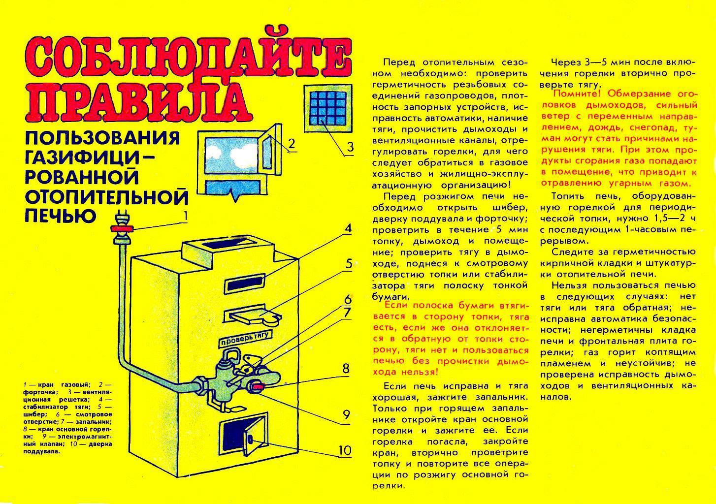 Как включить газовый котел: пошаговый инструктаж + правила безопасной эксплуатации
